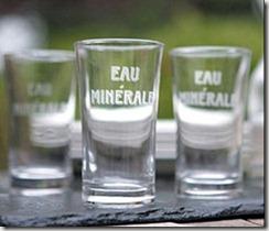 eau minérale mais pas eau potable