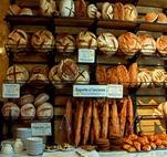 étal de boulangerie