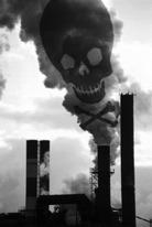 Incinérateur et fumées toxiques