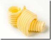 copeaux de  de beurre